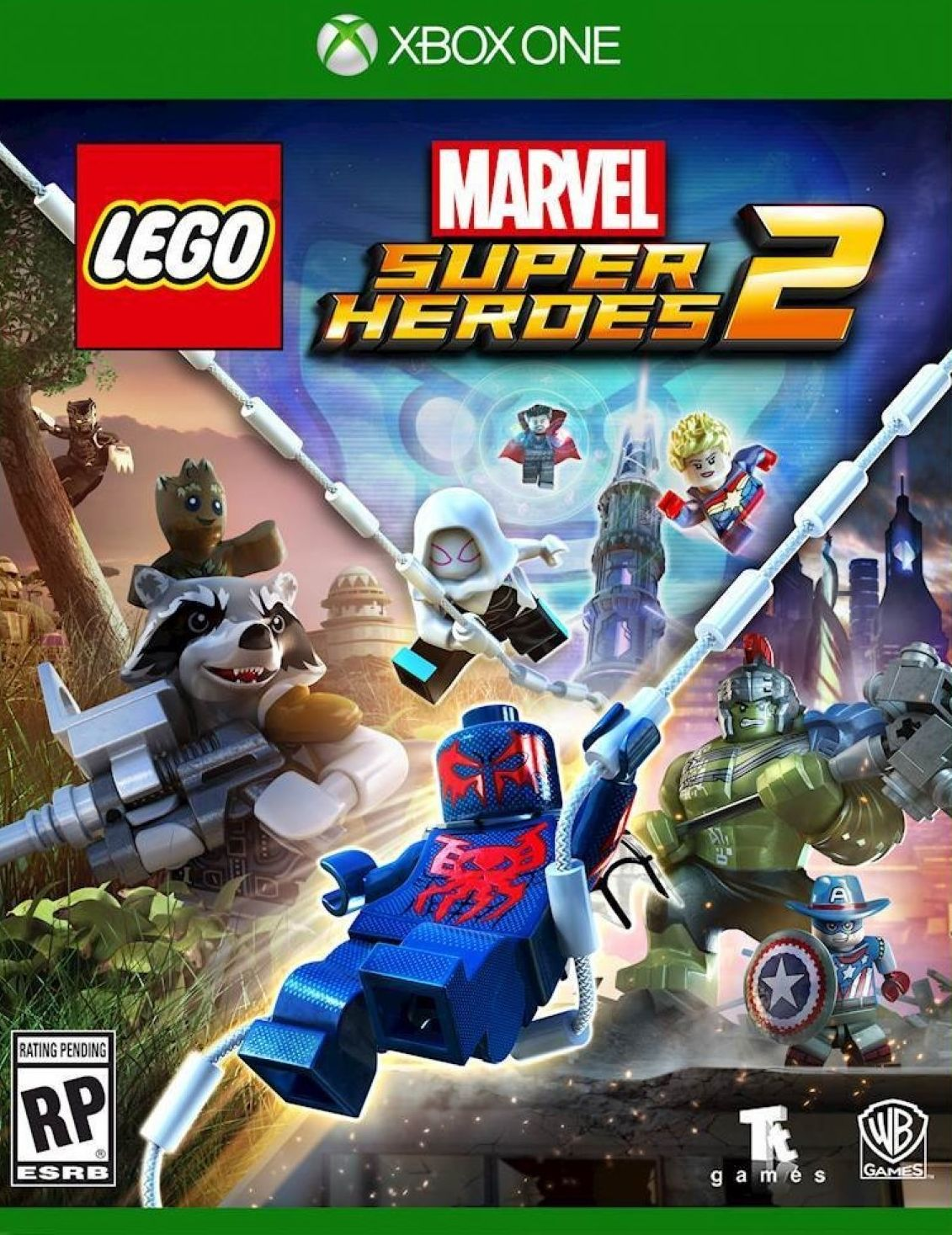 LEGO Marvel Super Heroes 2 - Xbox One - konto