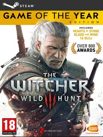 The Witcher 3 GOTY Wiedźmin 3 - konto Steam