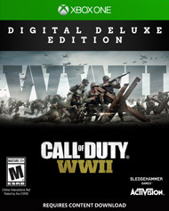 Call of Duty WWII DIGITAL DELUXE - Xbox One - konto