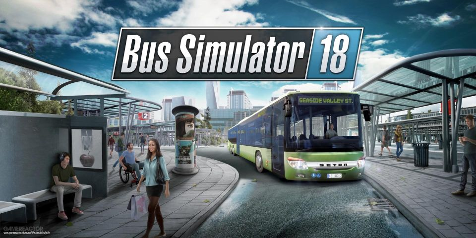 Bus Simulator 18 PL - konto Steam