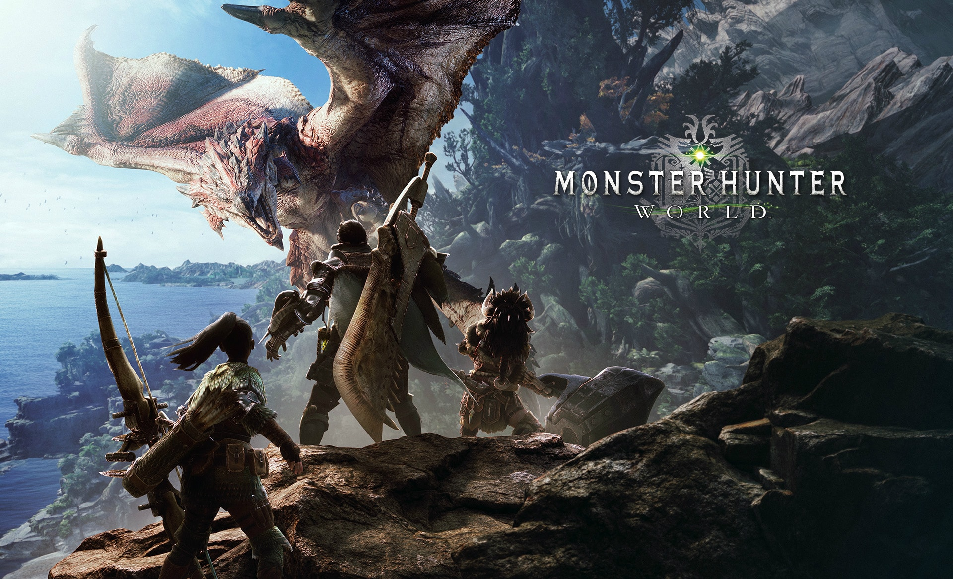 Monster Hunter: World PL - konto Steam