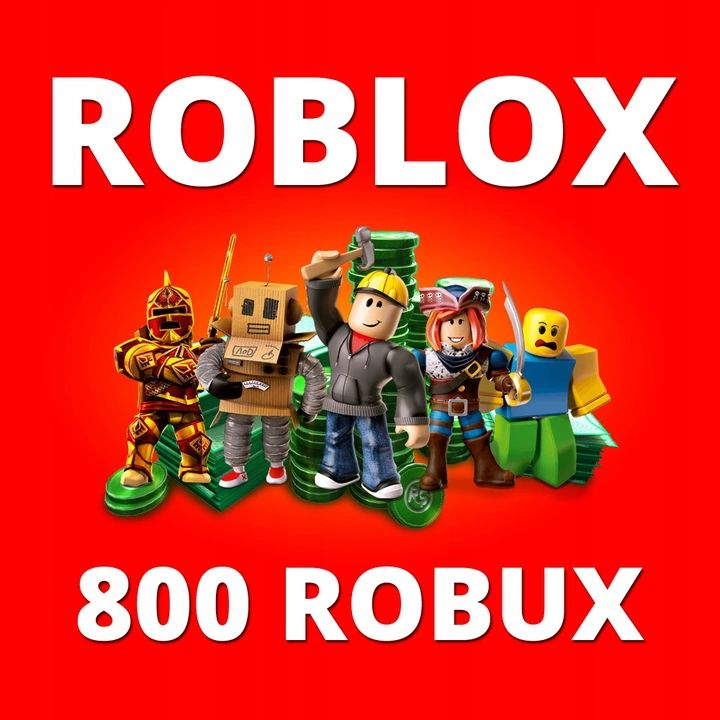 Roblox - 800 ROBUX (gift card / code)