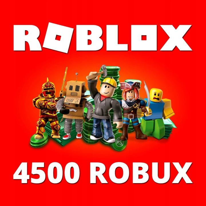 Roblox - 4500 ROBUX (gift card / code)