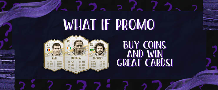 Coins promo WHAT IF FIFA 21 1
